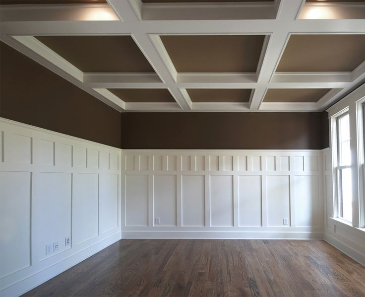 Wainscoting Craftsman Style Contrast Wainscoting Styles