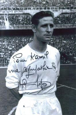Pamiątki sportowe: Raymond Kopa