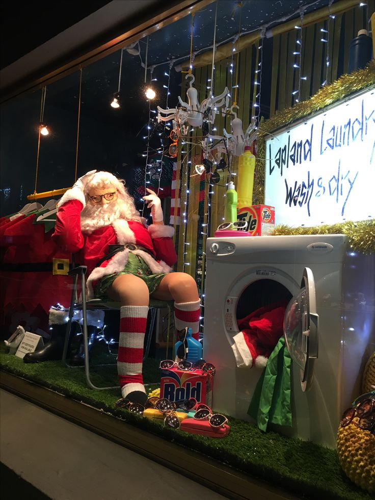 """MORTIMER HIRST OPTOMETRIST, High Street, Auckland CBD, New Zealand, """"24 Hour - Lapland Laundry Wash & Dry Now Open"""", creative by Ton van der Veer"""