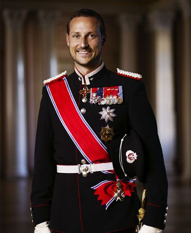 Prince Haakon Magnus, Crown Prince of Norway.  Born July 20, 1973.  Son of Harald V of Norway.  On becoming King, he will be Haakon VIII of Norway.
