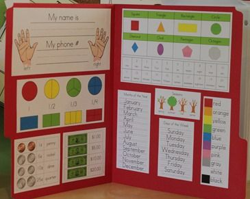 First Grade Mini Office Printables - cute!