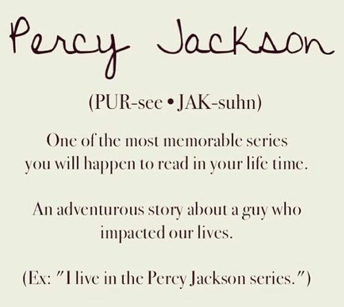 Percy Jackson by definition