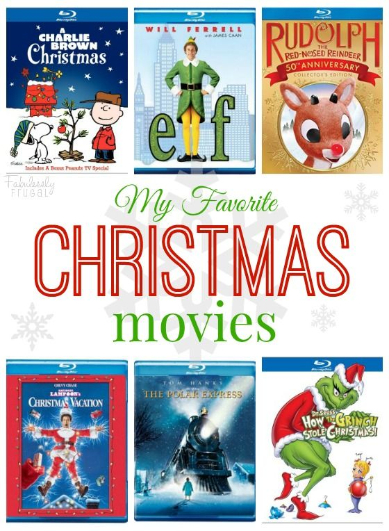 I love a good Christmas Movie! Check out our very favorites: http://fabulesslyfrugal.com/christmas-movies/ Great gift ideas too!