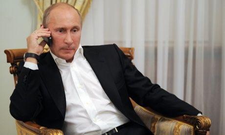 Putin's 2014 calls to overseas leaders