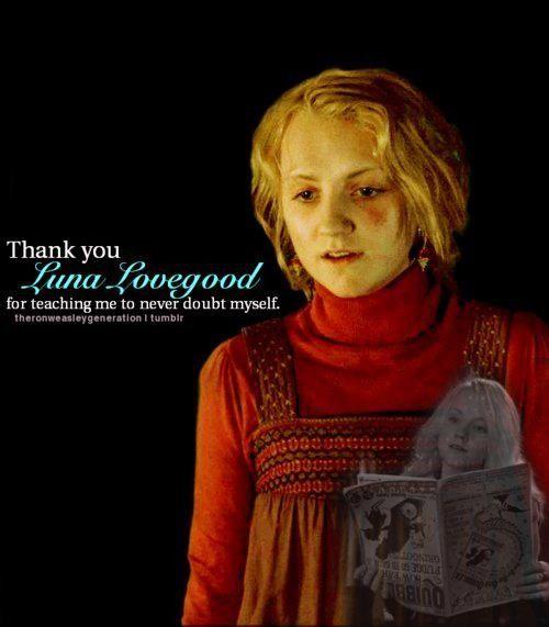 Luna Lovegood ~ The World of Harry Potter