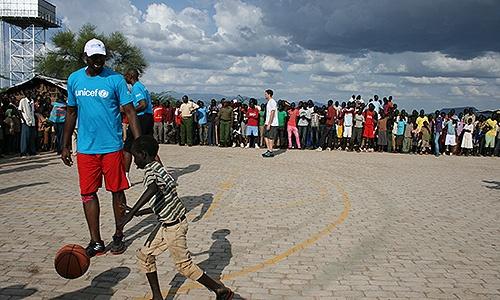 Nick Collison Details Trip To Kenya With Dikembe Mutombo, UNICEF « NBA.com | All Ball Blog