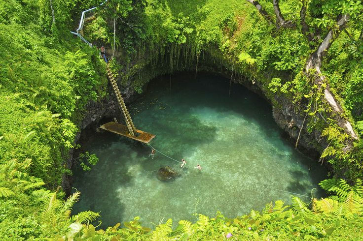 The Amazing To Sua Ocean Trench