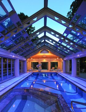 Indoor Pools Design Ideas, Pictures, Remodel And Decor