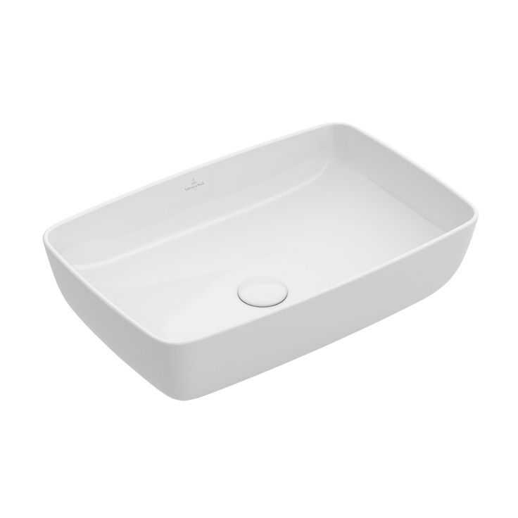 Villeroy & Boch Artis countertop basin W: 41 D: 41 cm white with Ceramicplus without overflow