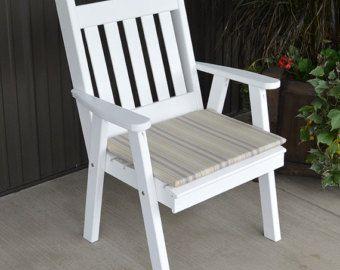 Cedro rojo inglés Royal silla de comedor por ALFurnitureCo en Etsy