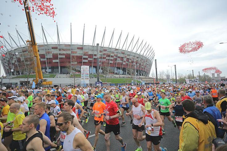 Tak wyglądał start ORLEN Warsaw Marathon