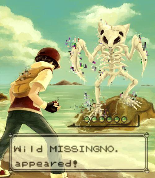 Missingno Art via Reddit user HorizoNxBringeR #Pokemon
