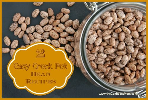 Easy Crock Pot Bean Recipes Recipes Pinterest The O 39 Jays Mom And Crockpot