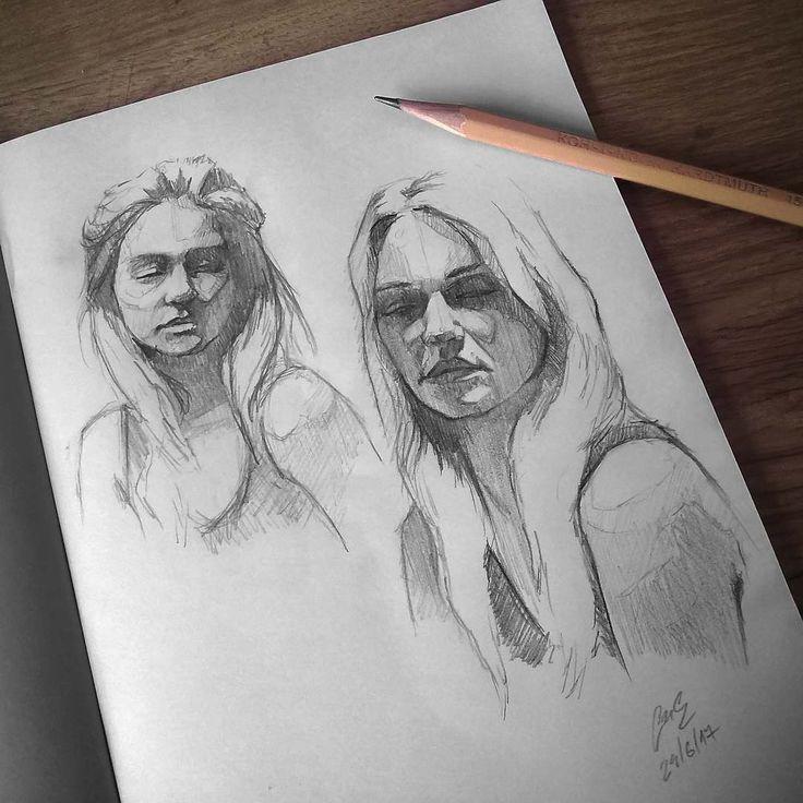 "Páči sa mi to: 3,076, komentáre: 10 – Miroslav Zgabaj (@miro_z_art) na Instagrame: ""Sketchbook  #face #portrait #sketch #sketching #sketchbook #paper #pencil #draw #drawing #art…"""