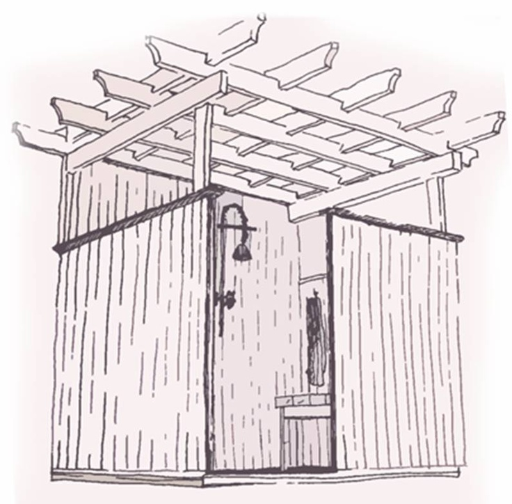 413979390717903488 furthermore Plans For 16x24 Cabin besides Outdoor Shower Design in addition Cabana Or Casitas besides Superb One Room House Plans 8 Pool House Design Plans. on cottage house plans pool cabana