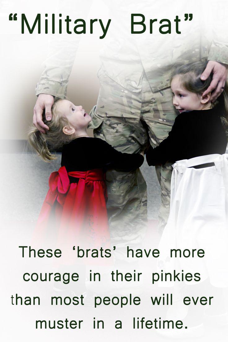 My sweet, brave girlies!!  #Army Brat  #Military Brat
