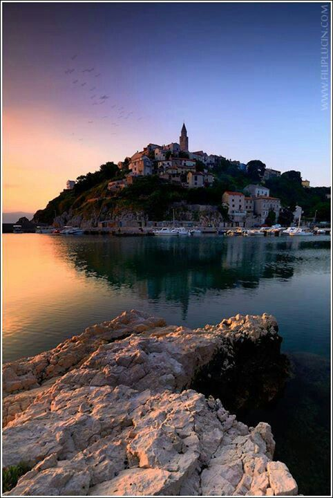 Island of Krk is a Croatian island in the northern Adriatic Sea, located near Rijeka in the Bay of Kvarner. (V)