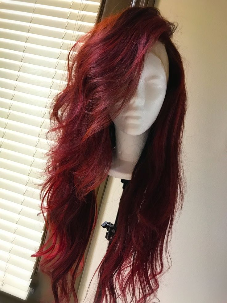 Red hair lovers <3 African american wigs. Wig Lovers.