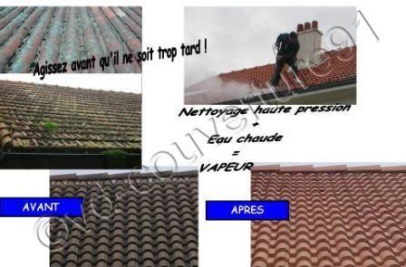 Nettoyer sa toiture c'est mieux la préserver http://www.vd-couverture91.fr/demoussage-zinguerie/