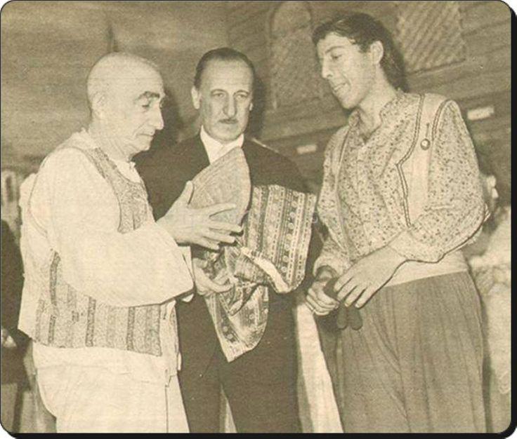 Kavuk töreni Ismail Dümbüllü'den Münir Özkul'a (1968) #istanlook #nostalji