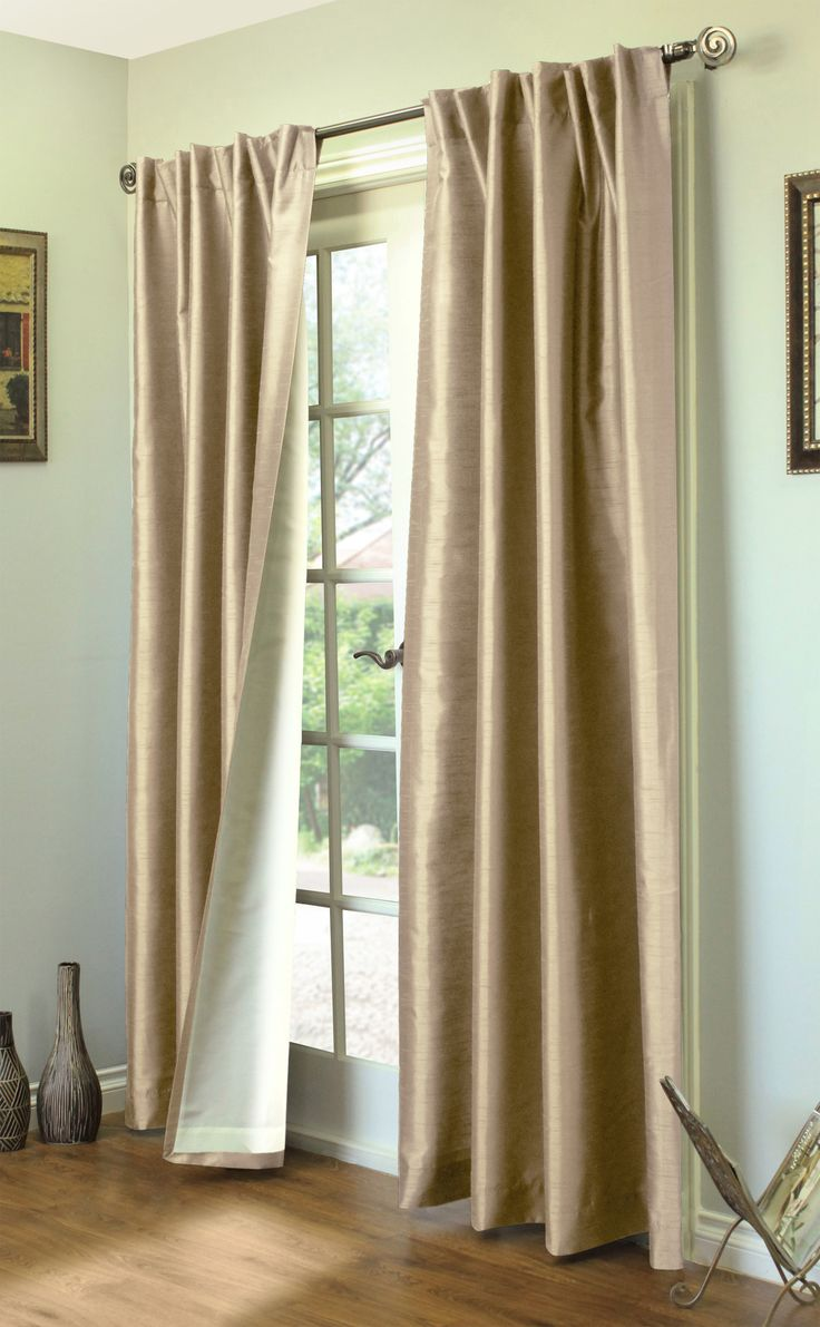 Ming Lined Room Darkening Curtains