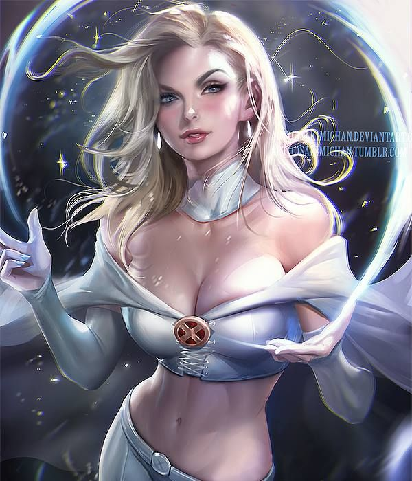 Emma Frost by Sakimi chan * - Art Vault