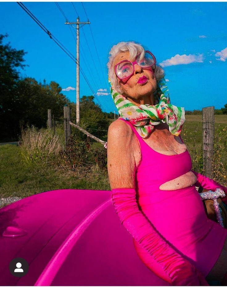 Meet Baddie Winkle, A 92 Years Old Stylish Grandma- Shes