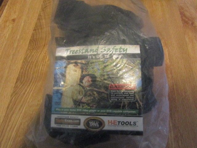 Tree Stand Harness In package With DVD