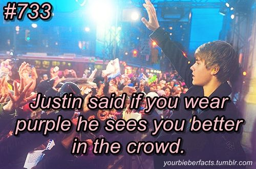 OMG I WORE PURPLE TO HIS CONCERT MAYBE HE SAW ME WHEN I BLEW A KISS TO HIM!!!!!!!!!!!!!!!!!!!!!!!!!!!!!!!!!!!!!!!!!!!!!!!!!
