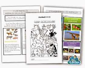 La Eduteca: RECURSOS PRIMARIA | Unidad didáctica sobre los animales