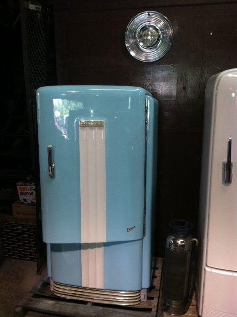 17 Best Images About Vintage Refrigerators On Pinterest