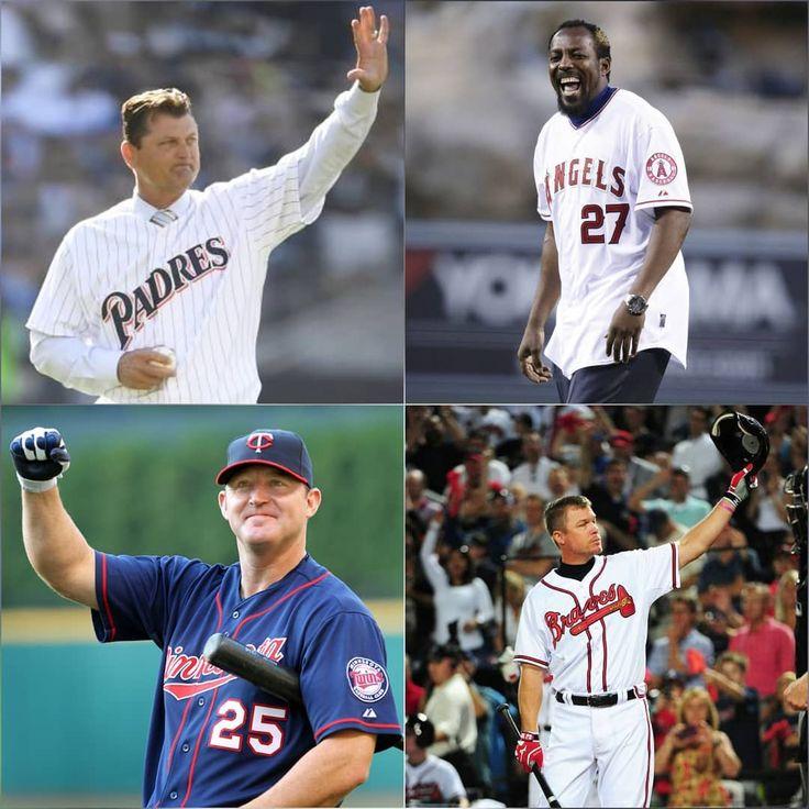 """""""LEYENDAS PERMANENTES""""  Los resultados de las elecciones de inclusión al Salón de la Fama de Cooperstown han dictaminado a cuatro nuevos miembros del grupo de inmortales del rey de los deportes.  Trevor Hoffman: Lanzador (CP). #Padres. 1993-2010.  Vladimir Guerrero: Jardinero (RF). #Expos #Angels #Rangers y #Orioles. 1996-2011.  Jim Thome: Infielder (1B). #Indians #Phillies #WhiteSox #Dodgers #Twins #Orioles. 1991-2012.  Chipper Jones: Infielder (3B). #Braves. 1993-2012.  #Baseball #Beisbol…"""