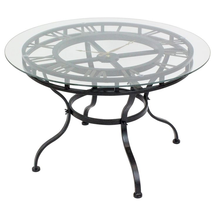 Glass Top Coffee Table With Iron Base: Best 20+ Clock Table Ideas On Pinterest