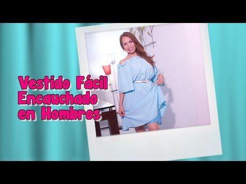 aafde38ad (33) DIY Vestido Fácil Encauchado en Hombros Easy Dress Camel Shoulders -  YouTube