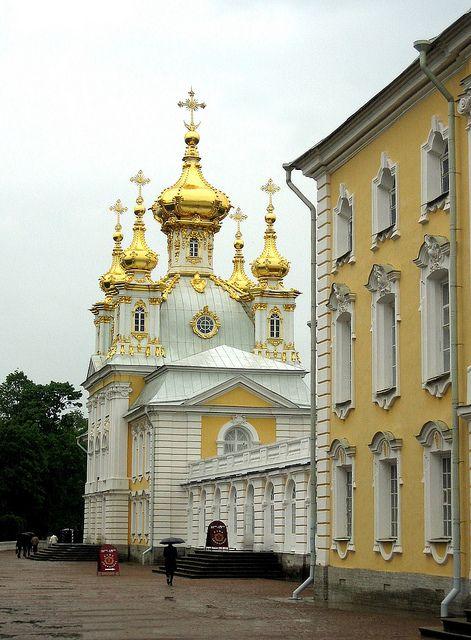 Chapel, the Grand Palace, Peterhof, St. Petersburg, Russia