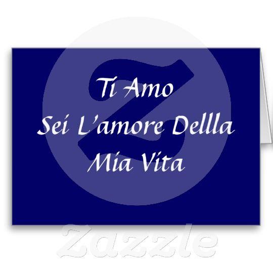 I LOVE YOU-KISS ME IN ITALIAN (TI AMO) (BACIAMI) GREETING CARDS