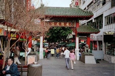 china town in the heart of sydney...beautiful fresh food and cheap shopping!