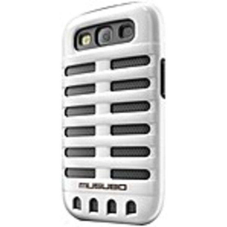 Smart IT Musubo Retro Case for Samsung Galaxy S3 - Smartphone - White - Polycarbonate, Silicone
