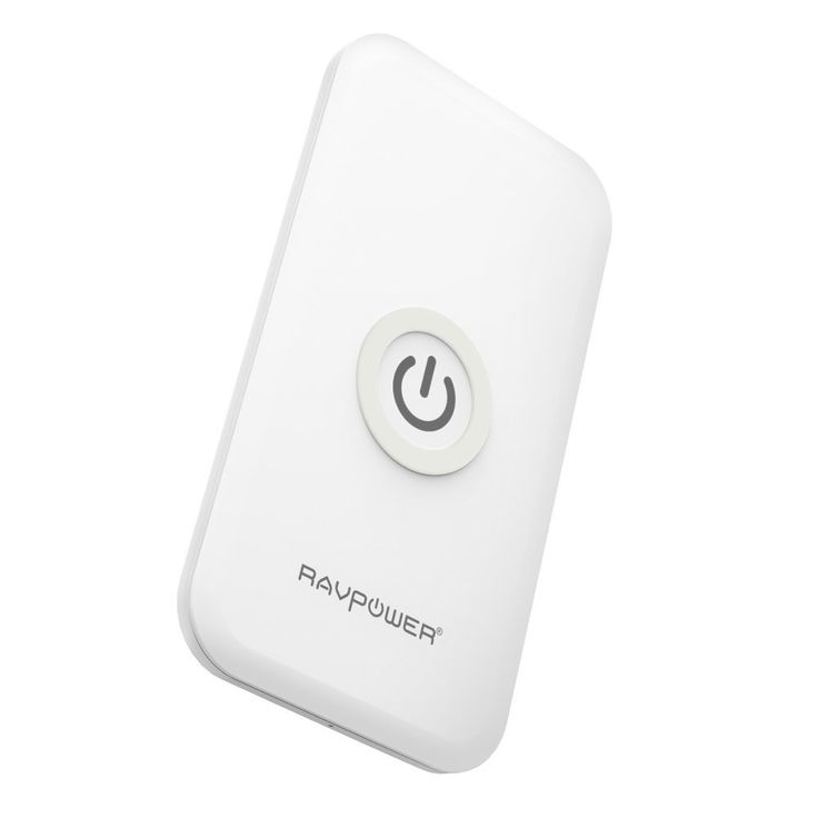 Amazon.com: RAVPower Qi Wireless Charger Charging Pad for Kyocera Brigadier, Samsung Galaxy S6 S5 S4, Note 5, Nexus 6 5 4 (AC Adapter Included) -White: Cell Phones & Accessories