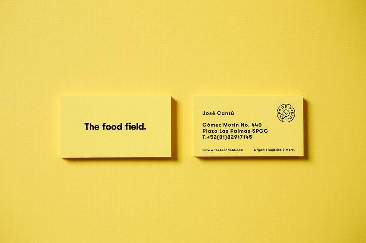 The Food Field. on Behance