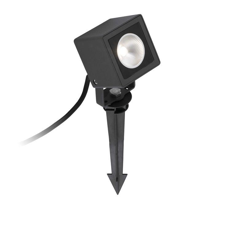 Proyector exterior Led con estaca Sobek 70151 de Faro [70151] - 66,85€ :
