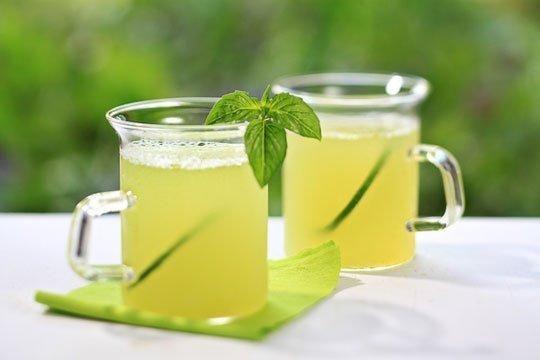 #Recipe: Honeydew-Basil Agua Fresca