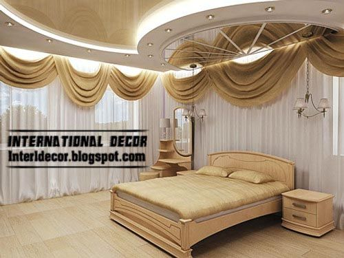 modern pop false ceiling designs for bedroom interior 14707 | 1e65063cb1a6f8de7533107aea4b6789