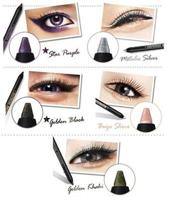 Iata cateva culori pentru un contur glam al ochilor! Aceste culori iti vor scoate ochii in evidenta si sunt foarte potrivite pentru o seara de vara, in oras! ✨ #makeup #glam #eyeliner