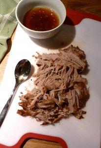 Filet de porc à l'érable à la #mijoteuse #marathonmijoteuse