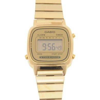 Casio | Casio Ladies LA670WEGA Digital Watch | Watches http://www.thesterlingsilver.com/product/citizen-l-sunrise-diamond-womens-quartz-watch-with-mother-of-pearl-dial-analogue-display/