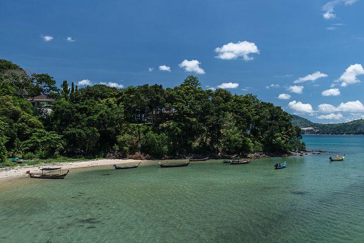 Nakalay Beach Phuket Boats
