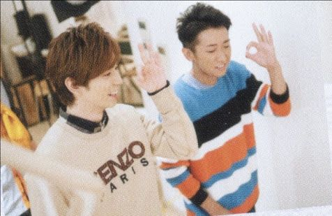My fave Ohno hairstyle is short and dark like this. Dreamy!