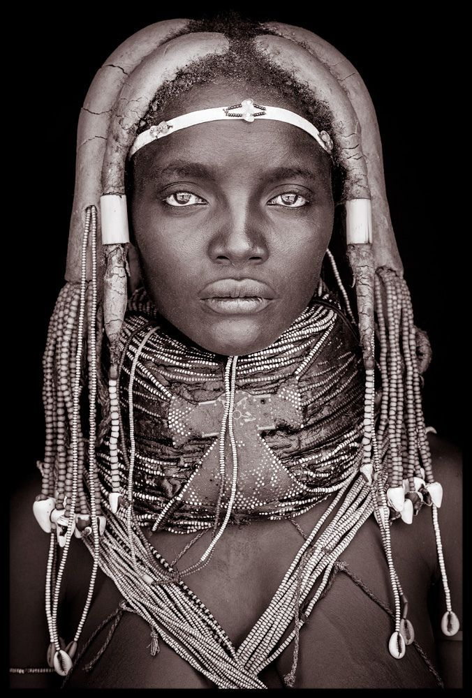 Africa | 'Mynga' - from the Mumuhuila tribe of Angola | © John Kenny