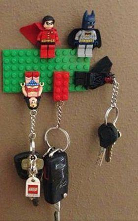 1000 Ideas About Lego Key Holders On Pinterest Key